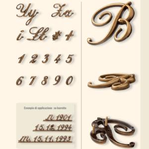 Буквы из бронзы заказать