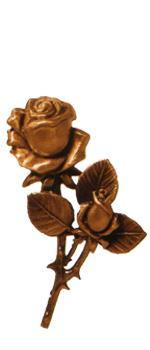 Розы и цветы из бронзы