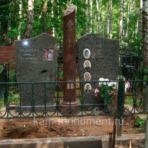 Фрагменты некоторых элитных памятников