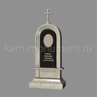 N2. Стандартный памятник из гранитов Масловский и Габбро