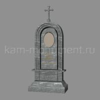 N4. Стандартный памятник из гранита Исетский