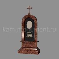 №5. Стандартный памятник из гранитов Лезниковский