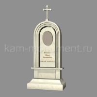 N8. Стандартный памятник из мрамора Полоцкий