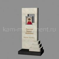 Стандартный памятник из мрамора Полоцкий