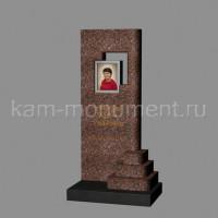 Стандартный памятник из гранитов Токовский