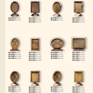 Рамки из бронзы для памятника