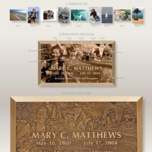 Таблички из бронзы каталог
