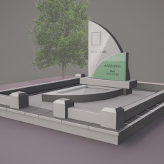 Стандартный памятник СТ6 - эскиз