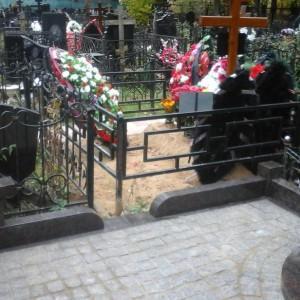 Памятник 0000404. Кованная ограда