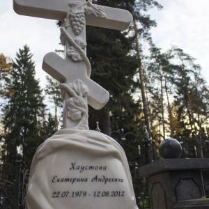 Крест для Памятника Мрамор Полоцкий 0000404