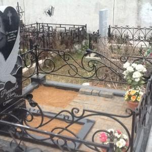 Памятник 0000405. Кованная ограда