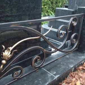Памятник 0000407 Кованная ограда