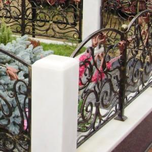 Памятник 0005008. Ограда кованная