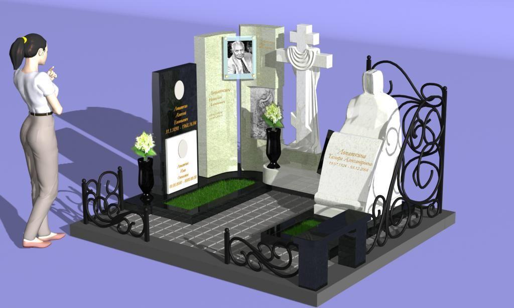 Памятник 0000473. Реализация проектов надгробий