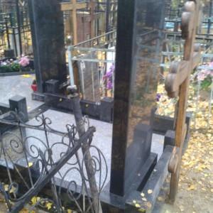 Монтаж и благоустройство. Памятник 0000476