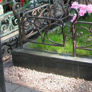 Памятник 0000478. Ограда кованная
