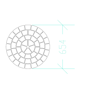 Этап 8. Укладка брусчатки