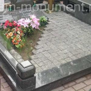 Каменная ограда для памятника 0000417