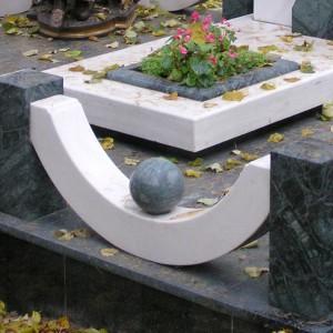 Ограды из камня для памятника 0000457