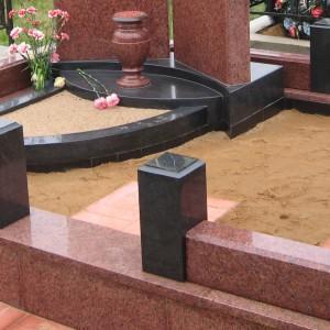 Ограды из камня для памятника 0000459