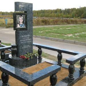 Ограды из камня для памятника 0000489