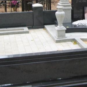 Каменная ограда к памятнику 0004001