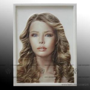 цветной скульптурный портрет