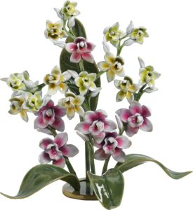 Бронзовый цветок